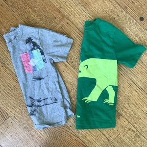 Two Size 4T Gap T—Shirts, Both Perfect Condition